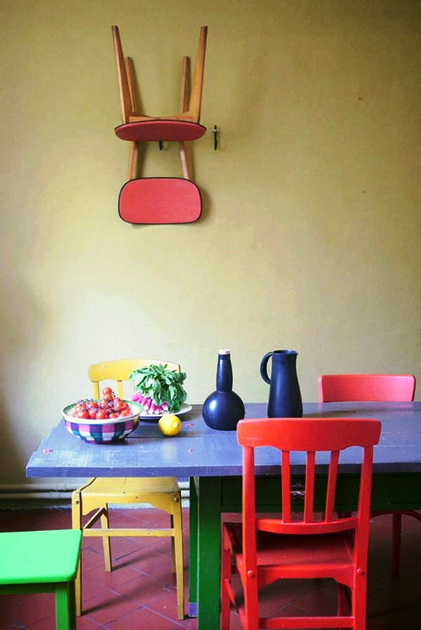 13-Colorful Dining Room