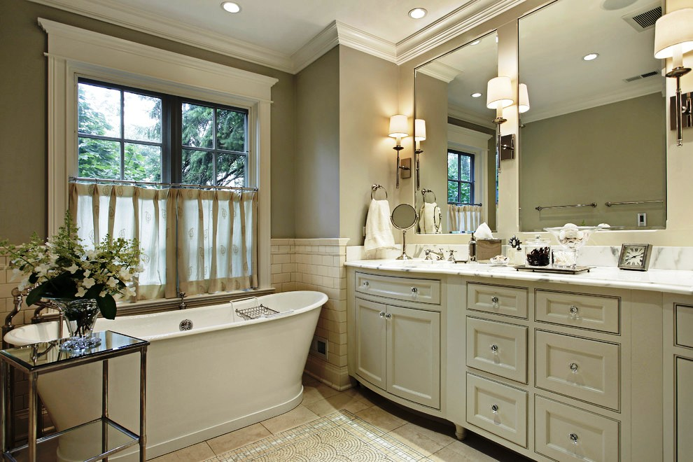Transitional Bathroom Design Pictures : Stunning transitional bathroom design ideas to make