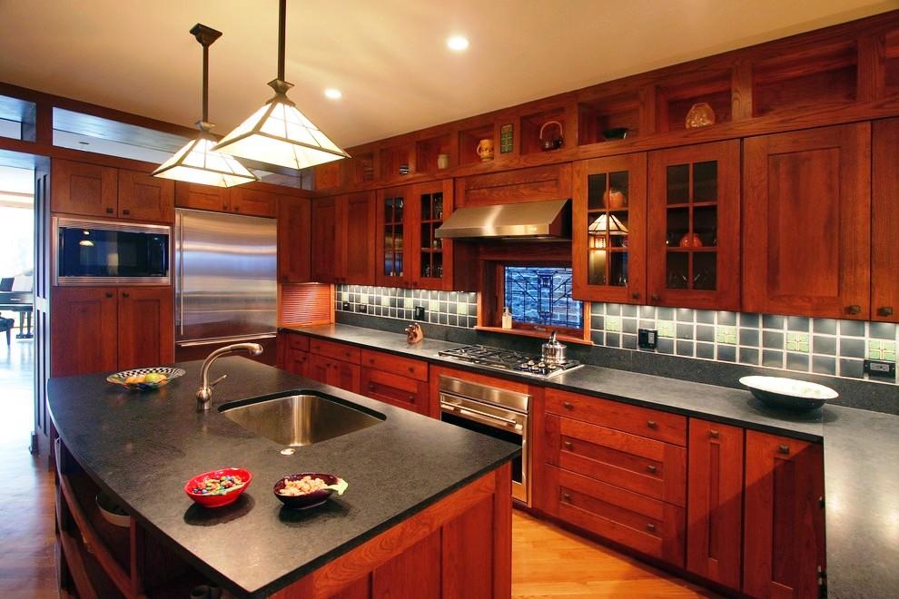 33-Craftsman Style Kitchen