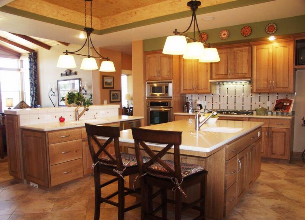 35-Craftsman Style Kitchen