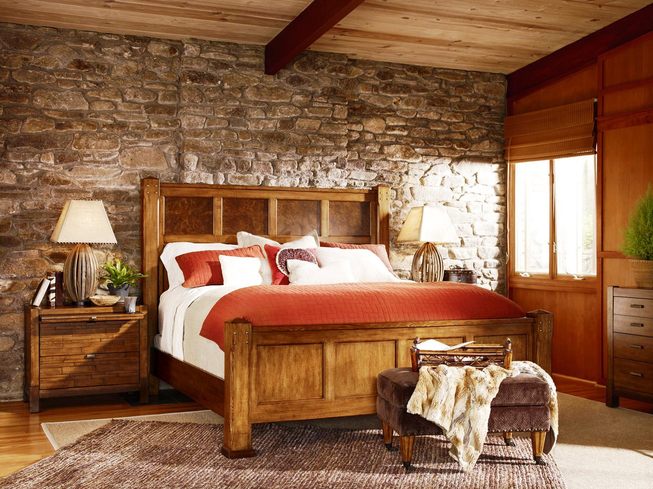 7-Rustic Bedroom Ideas