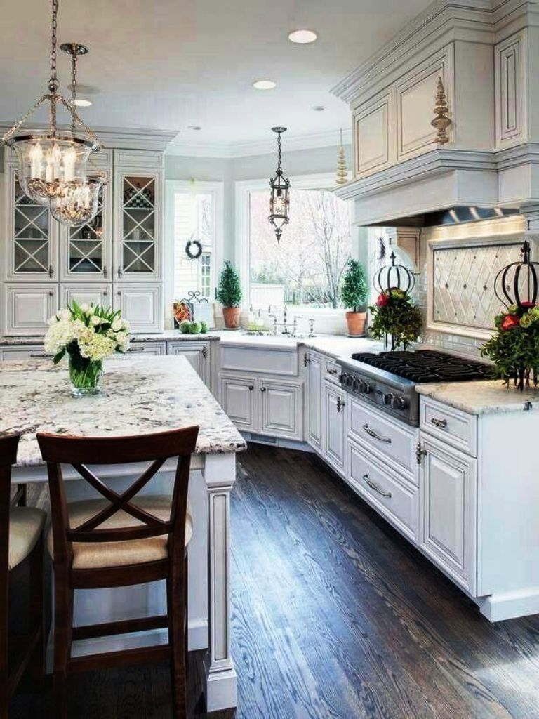 20. White luxury Kitchens