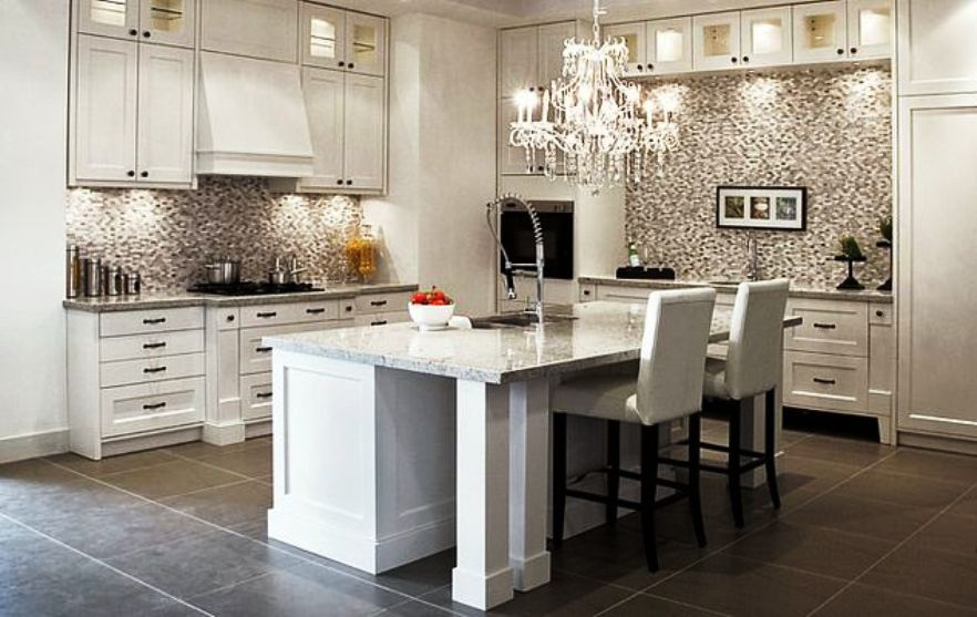 24. White luxury Kitchens