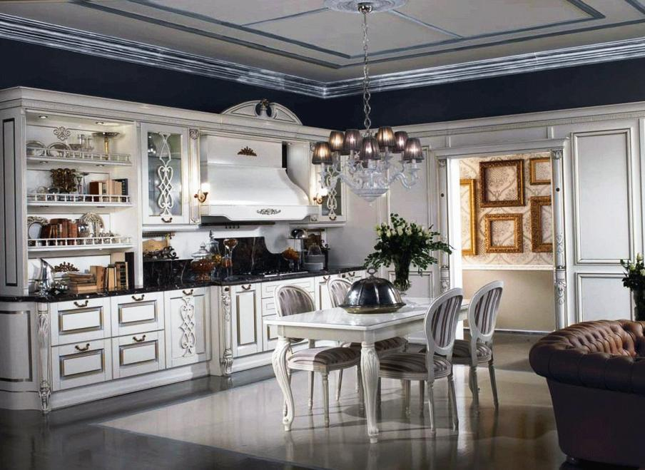 36. White luxury Kitchens