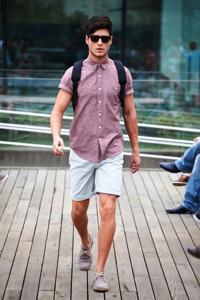 6. Short Outfits For Men