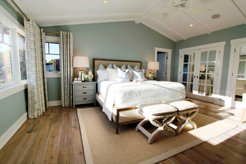 9-beach style master bedroom