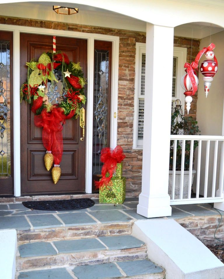 holiday decorating ideas for front porch