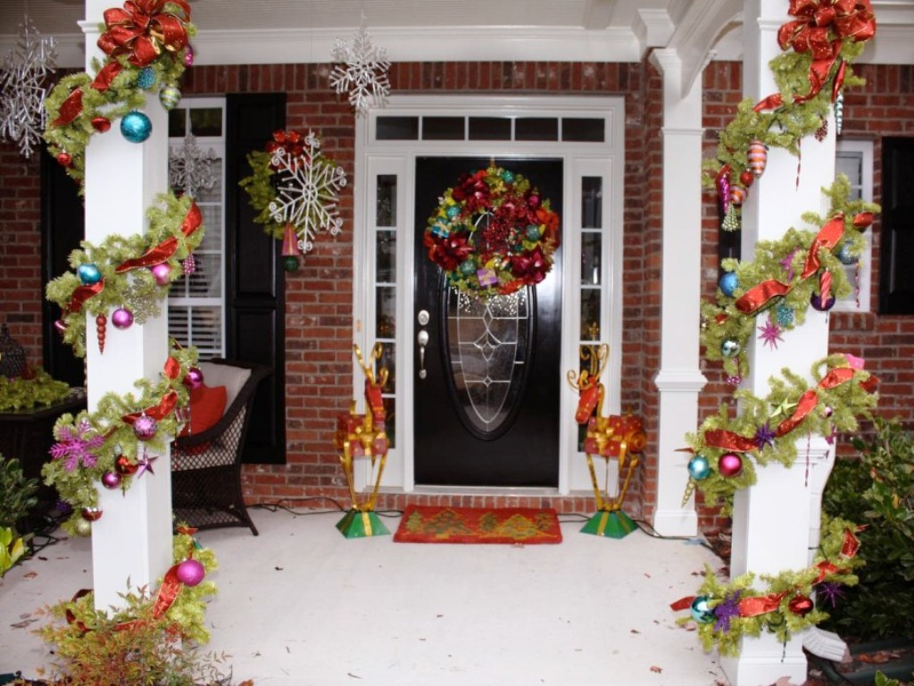 Front porch decorating ideas for christmas - 9 Christmas Front Porch Decorating Ideas