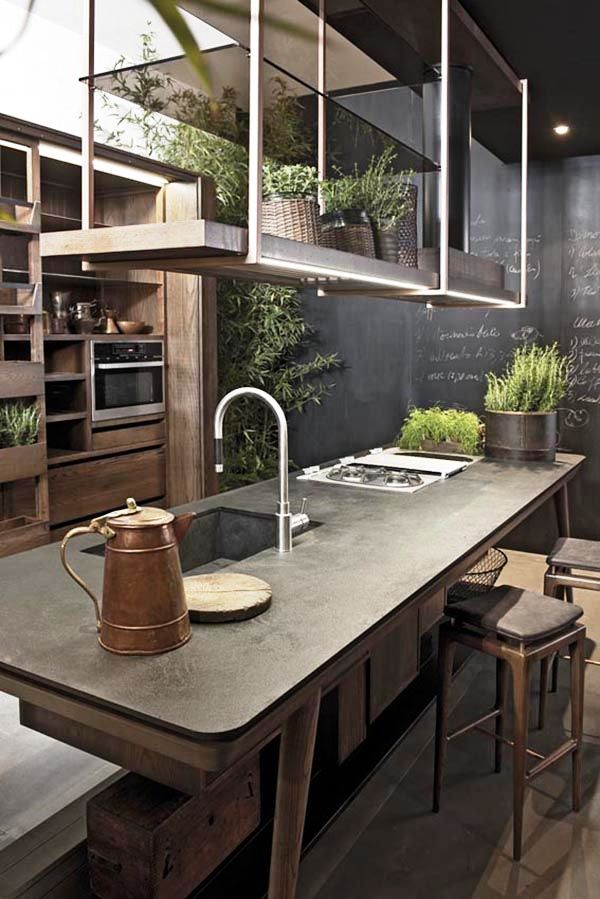 11-Concrete Industrial Kitchen