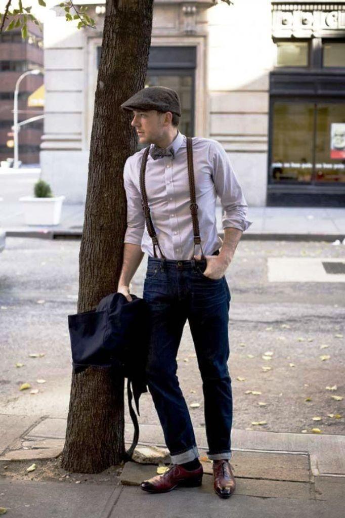 15. Vintage Men Outfits