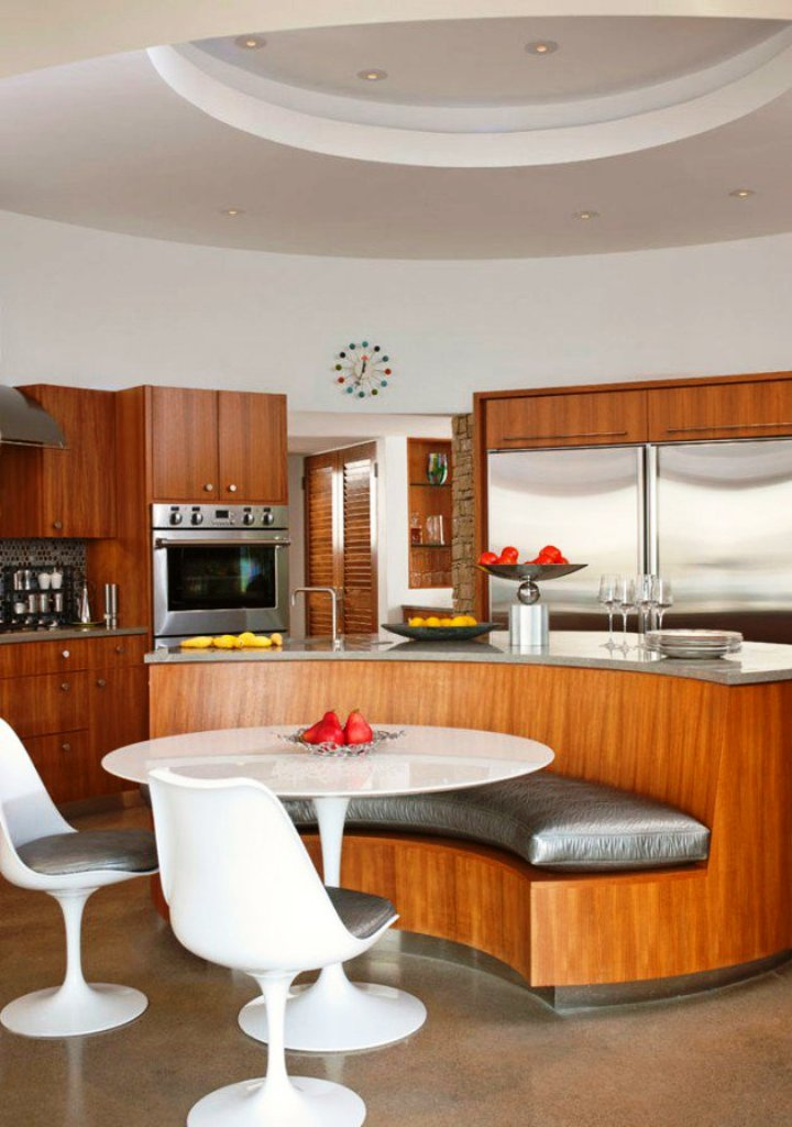 25 adorable mid century kitchen design and ideas to try instaloverz - Simple but charming mid century kitchen design ...