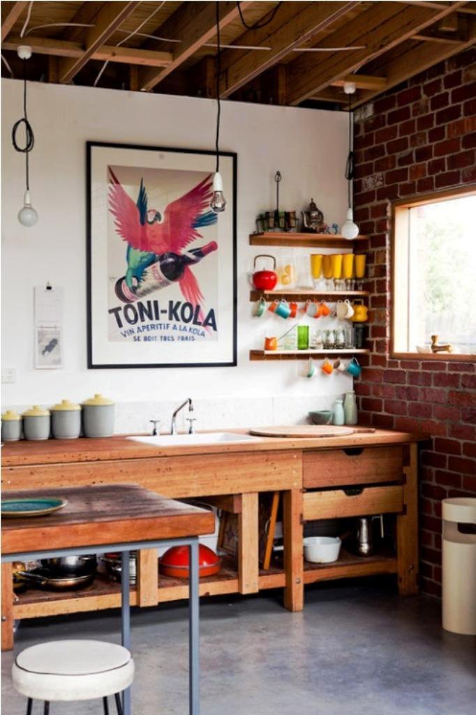 5. Eclectic Kitchen Design