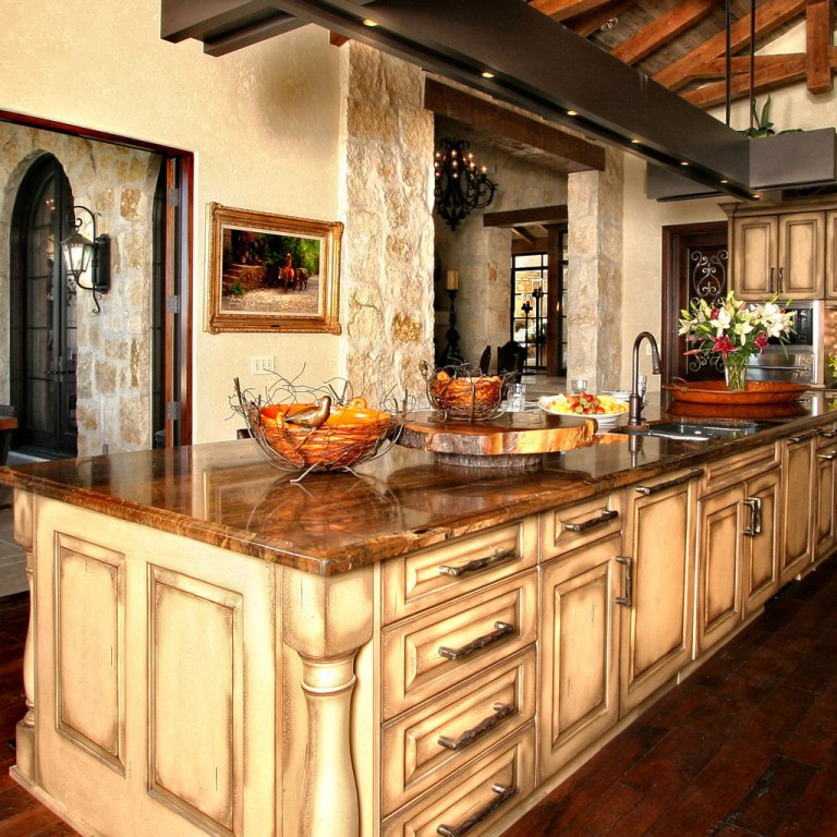 Granite Rustic Kitchen