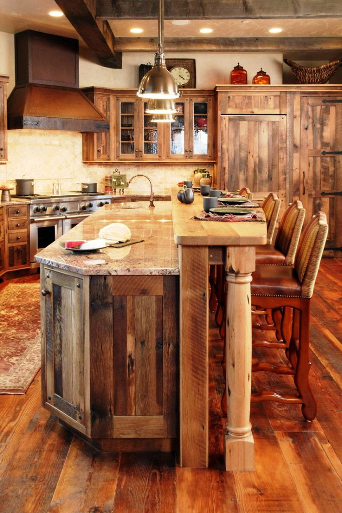 Rustic Wooden Kitchen