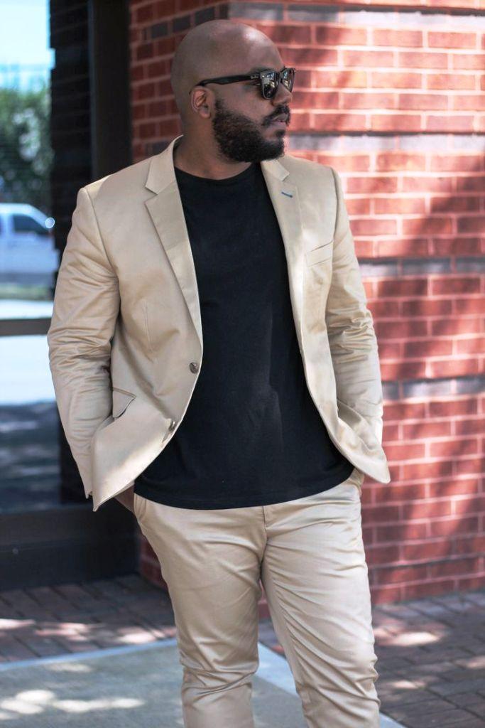 13. Husky Men Outfit