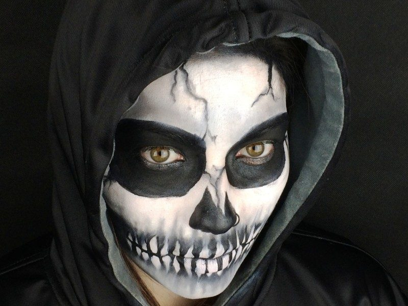 25 Scary Halloween Skeleton Makeup Ideas For You To Try