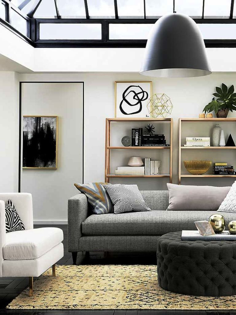 25 amazing modern apartment living room design and ideas for Diy living room ideas pinterest