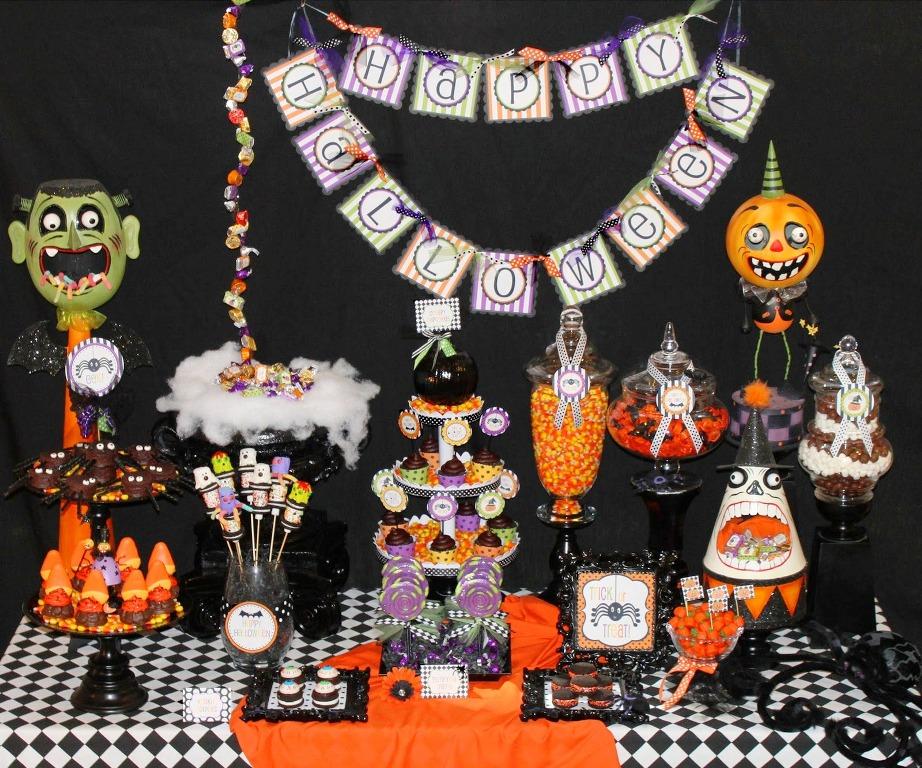 25-Halloween Kids Party Design