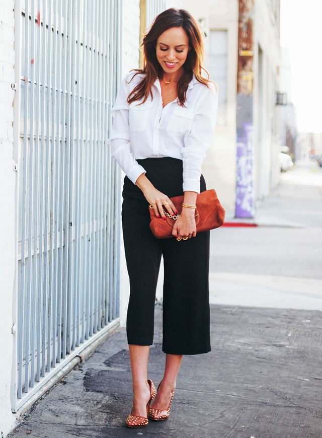 12-Culottes Outfit Formal