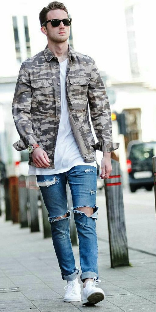 13-Ripped Jeans Outfit Ideas For Men