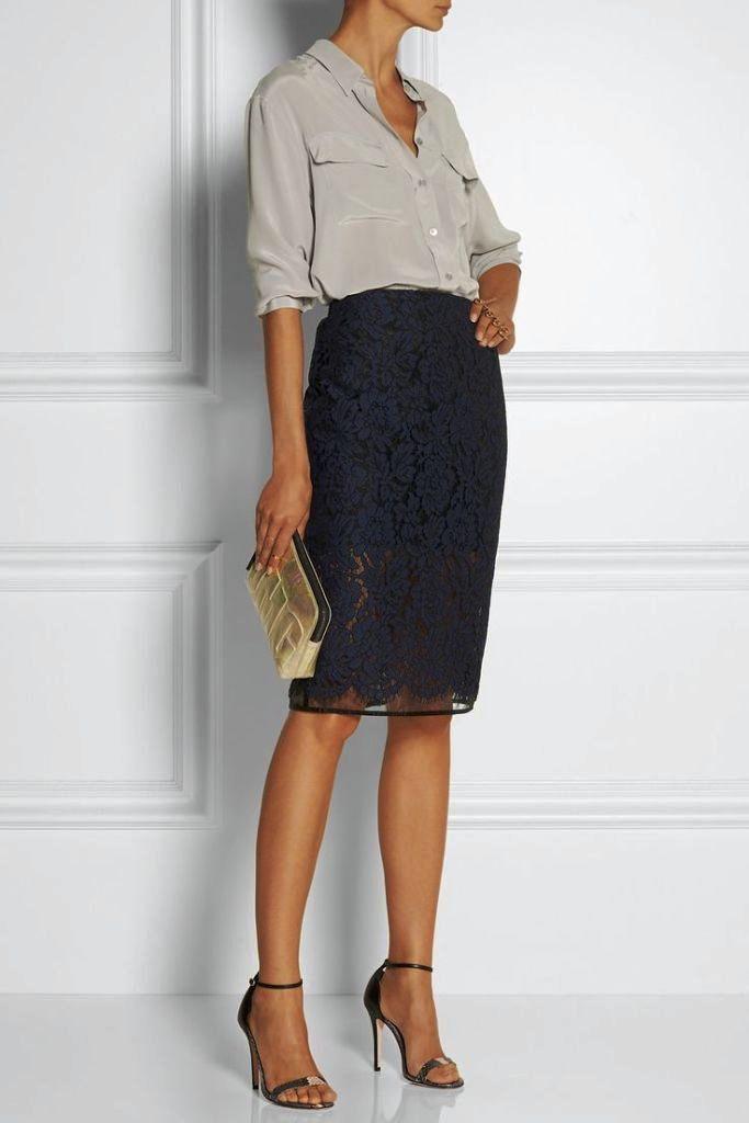 Best Pencil Skirt Outfit Ideas (3)