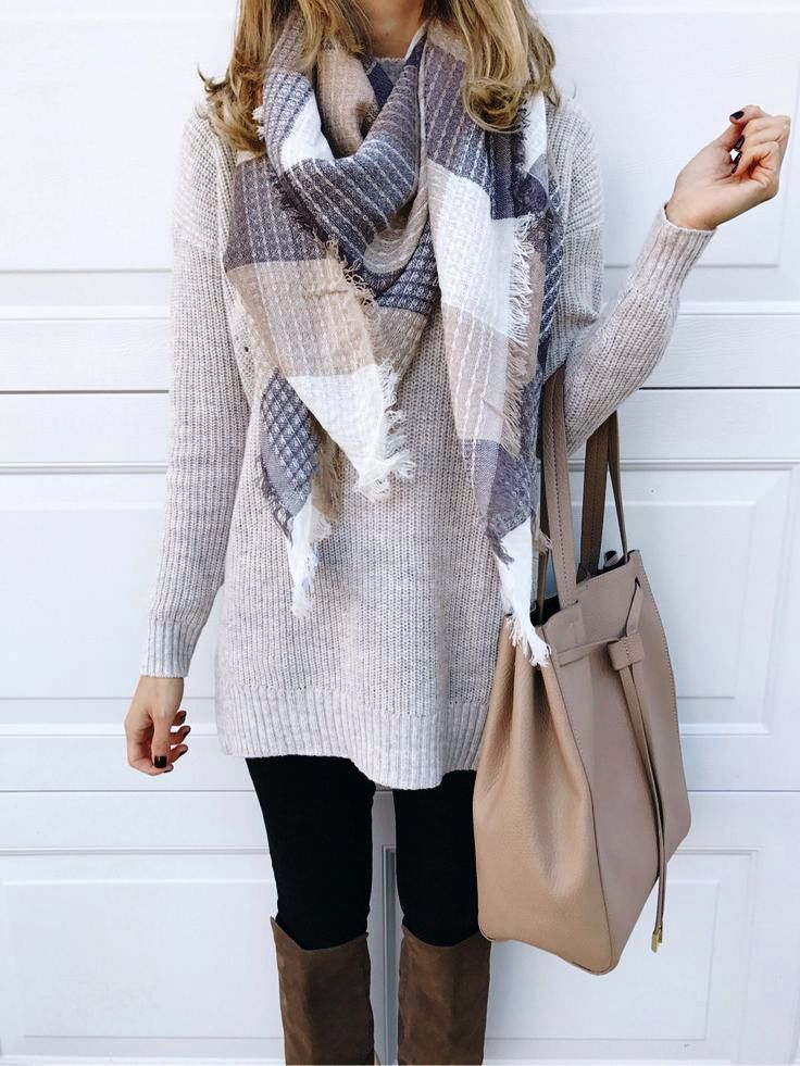 Different Sweater Style Outfit Ideas For Women (4)