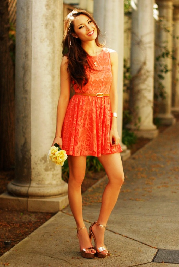 3-Coral Dress Ideas