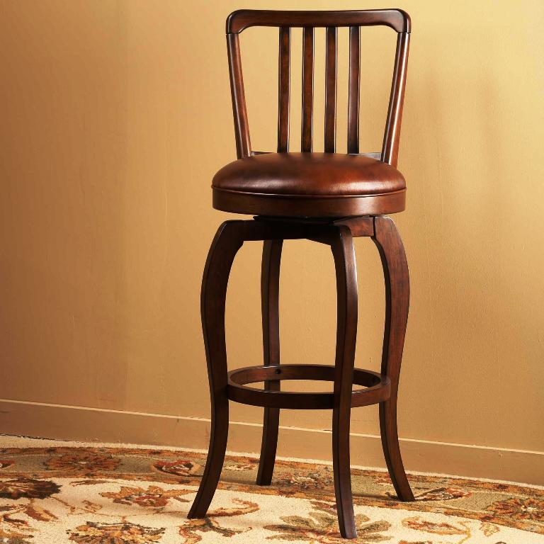 22. Wooden Base Stools
