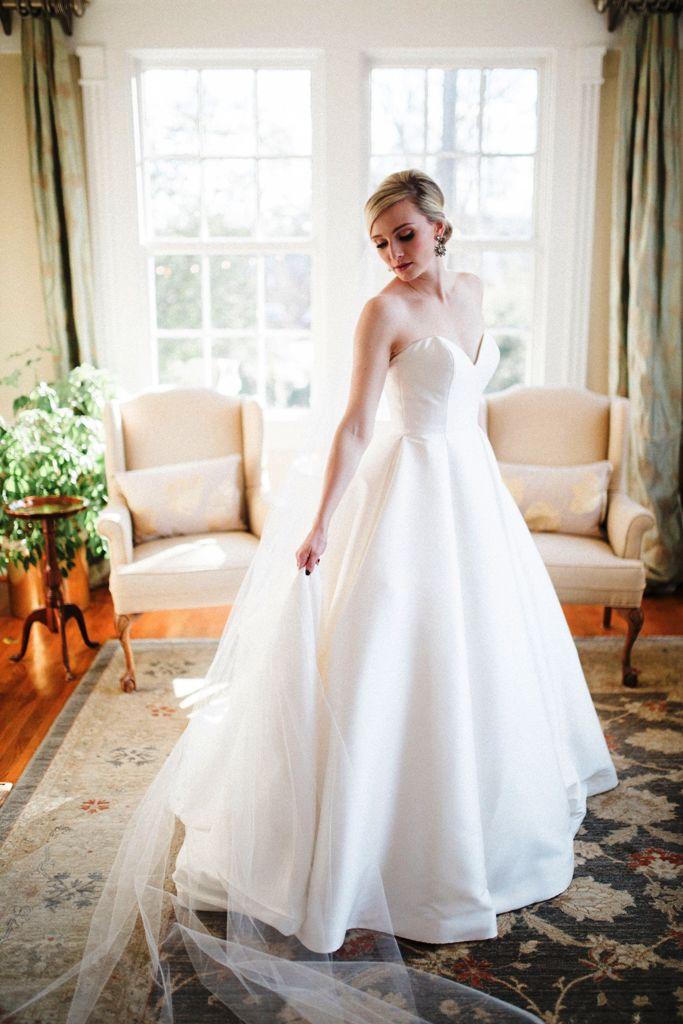 9-Strapless Wedding Dress