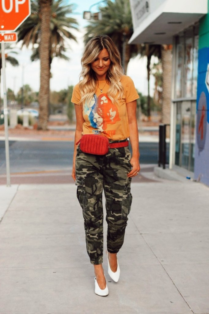 Camouflage pants For Travelling