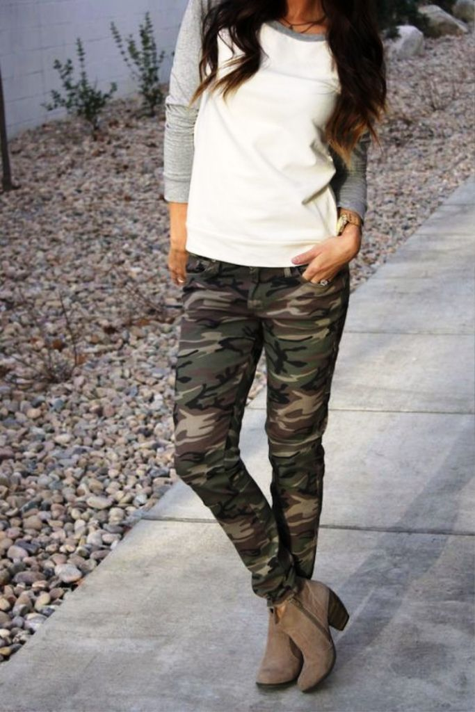 Casual Camouflage pants