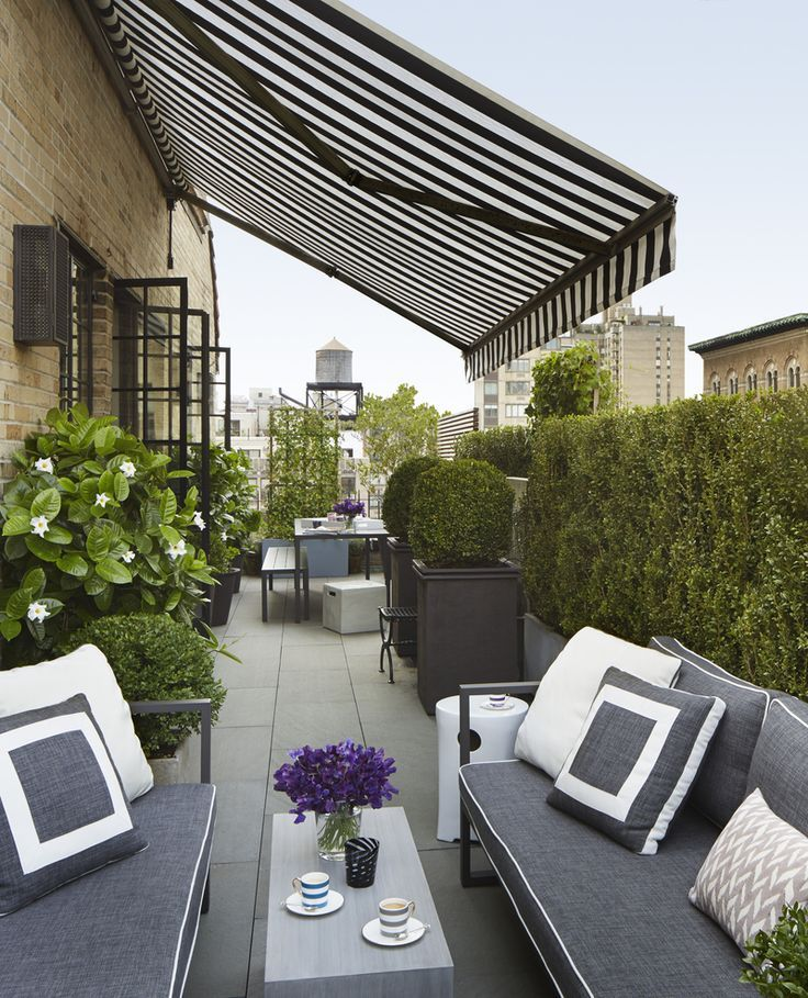 Luxuary Roof Garden Ideas