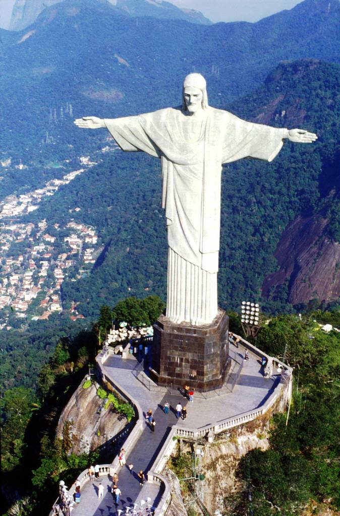 Christ the Redeemer In Brazil