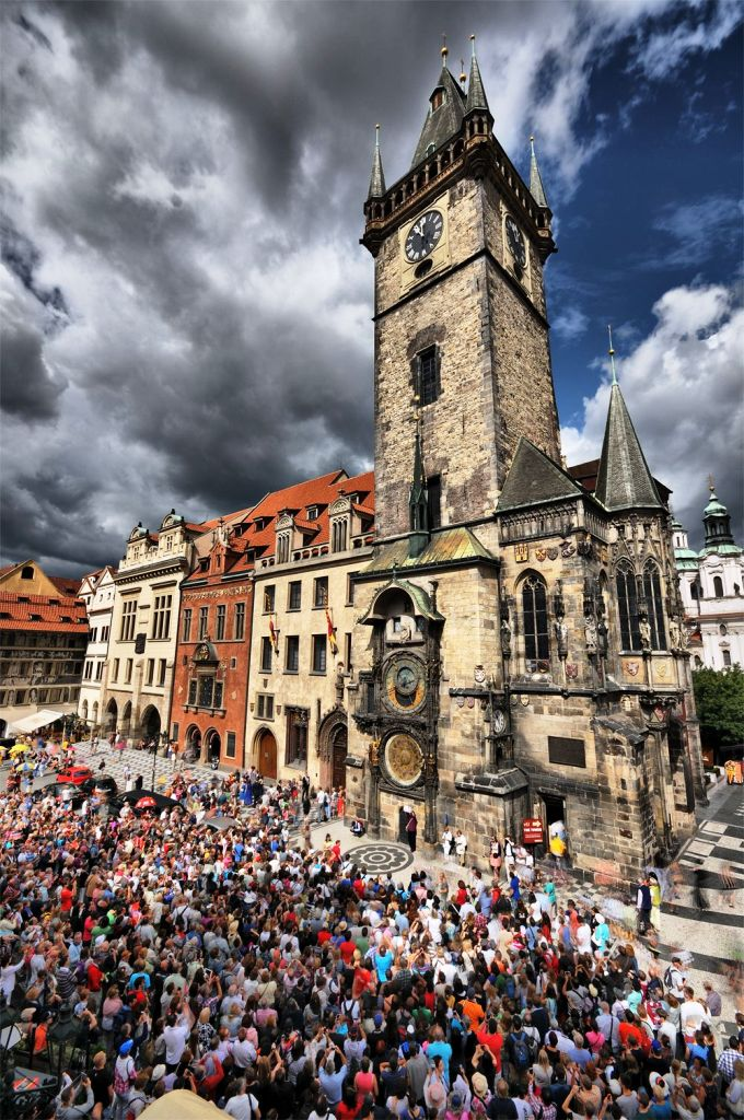 Old Town Square-Top 10 Tourist Attractions In Prague This Year