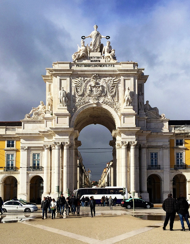 Praca Do Comercio-Top 10 Tourist Attractions In Lisbon This Year