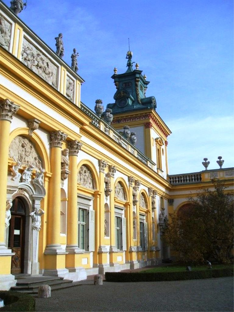 Wilanow Palace-10 Top Tourist Attractions in Warsaw This Year