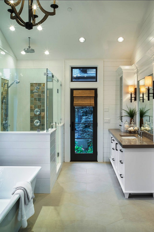 10-Transitional Bathroom Design