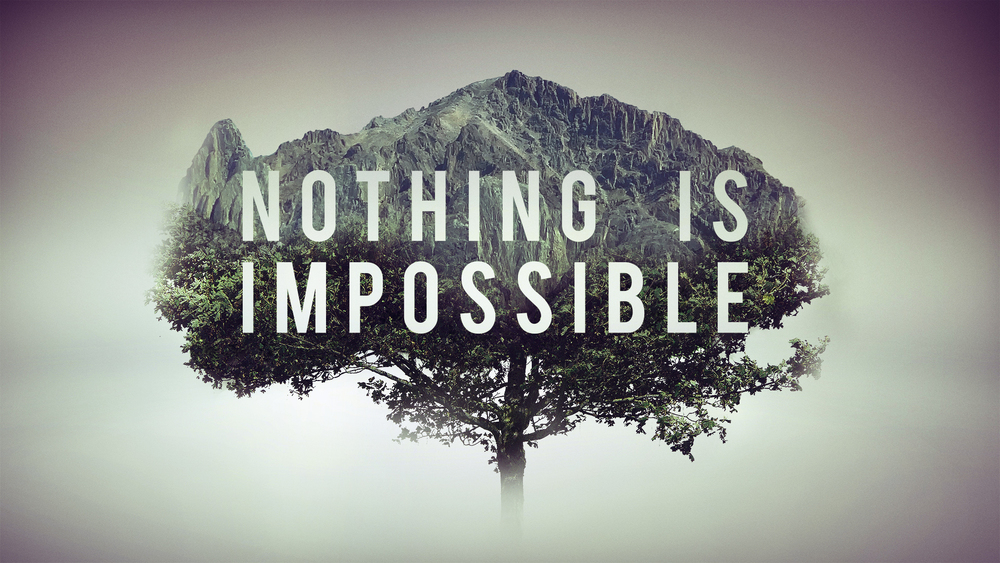 Impossible Is Nothing It's Just A Mere Word