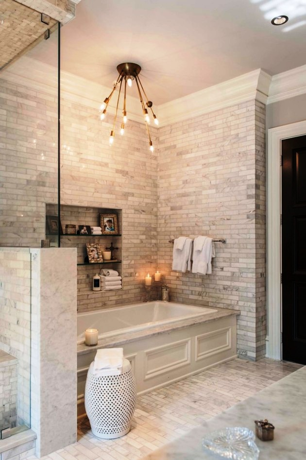 15-Transitional Bathroom Design