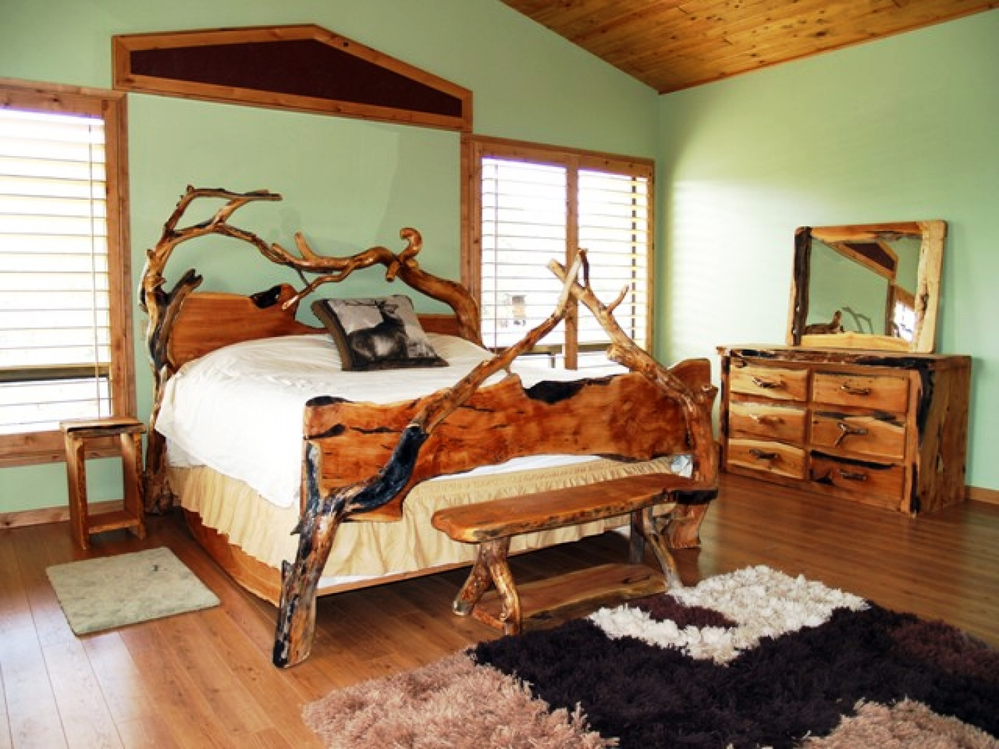 20-Rustic Bedroom Ideas