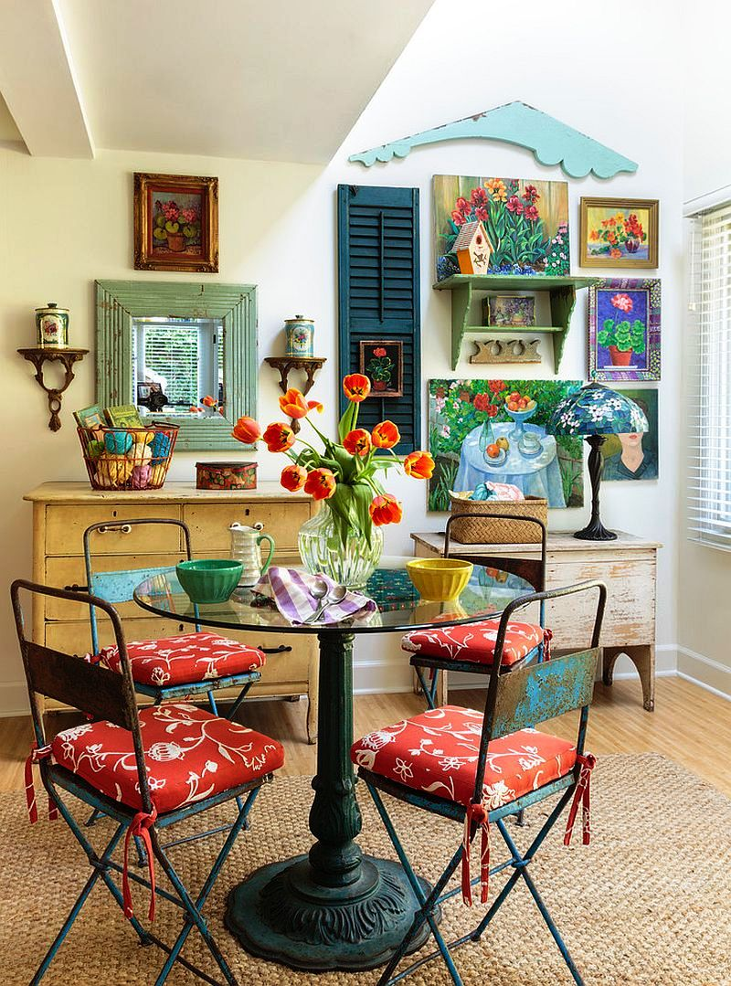 38-Colorful Dining Room