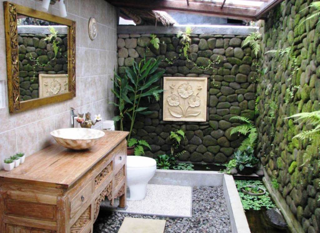 1. Amazing Tropical Bathroom Ideas