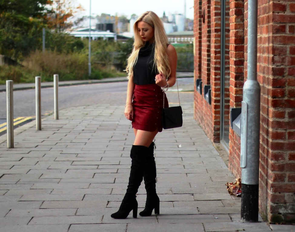 55 ideas of outfit to wear with knee high boots   instaloverz