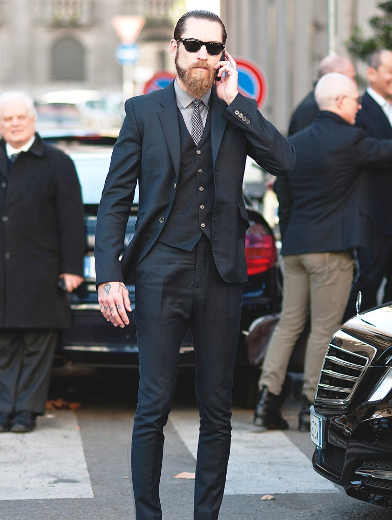 21-black suit fashion ideas for men