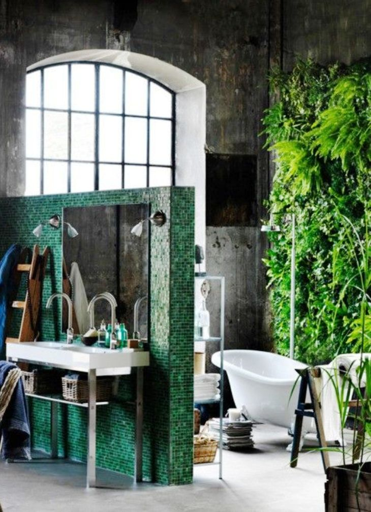 22. Amazing Tropical Bathroom Ideas