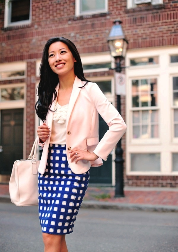 4-Awesome check outfits for Office wear