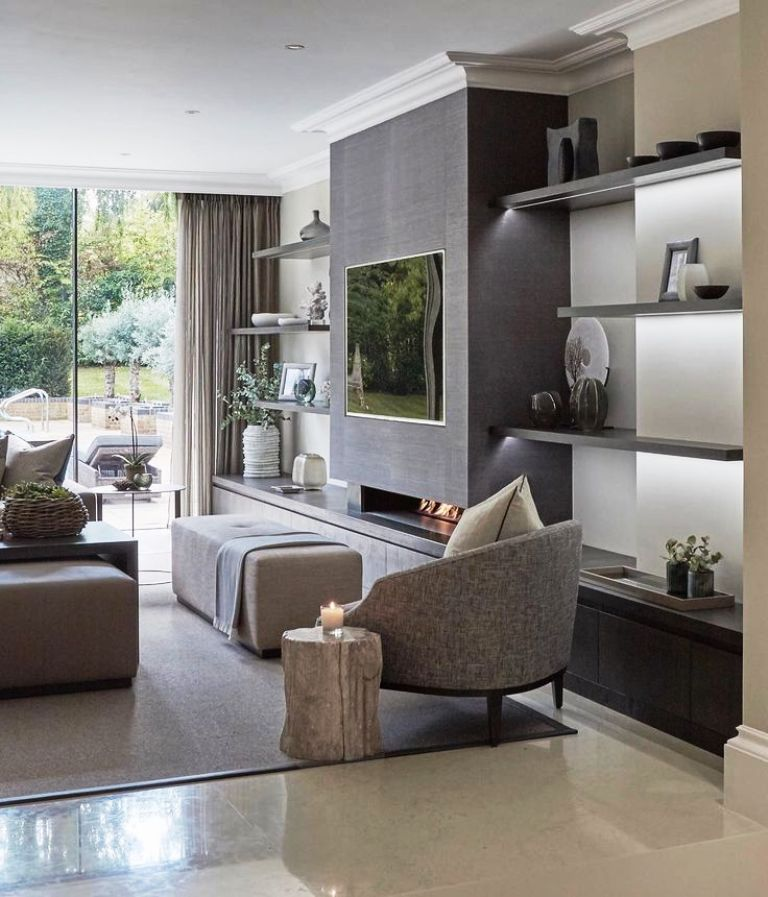 Modernhome Ideas: 25 Best Contemporary Living Room Design And Ideas For Your