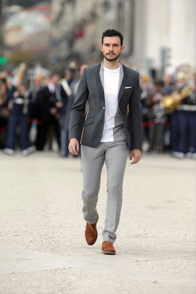 4 Simple Examples of Business-Casual Outfits for Men Now that you know what clothes are essential for dressing business casual, let's cover a few examples of looks you could put together. I've ranked these from most formal to least formal, and as I've said before, which one's most .