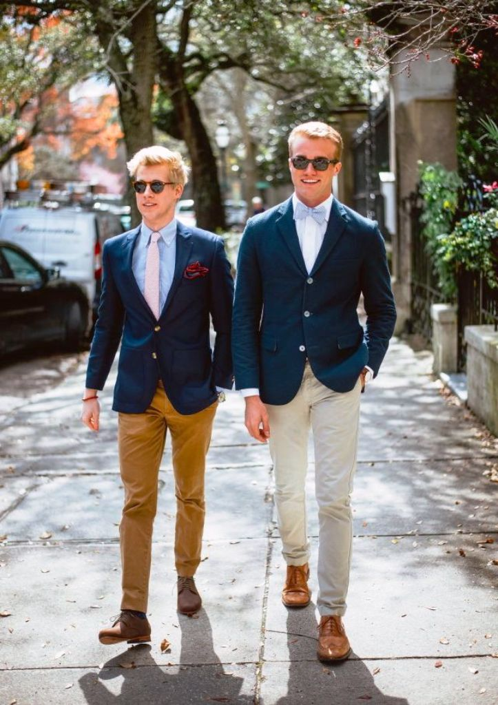 1. Preppy Men Fashion