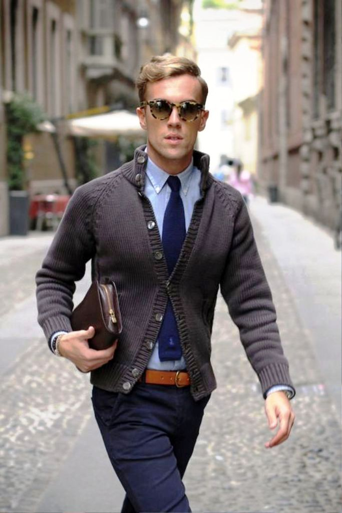 10. Preppy Men Fashion